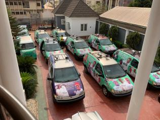 Osanebi Donates Cars to PDP Campaign Council