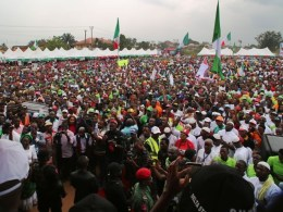PDP Supporters in Ukwuani