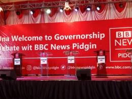 BBC News Pidgin Governorship Debate