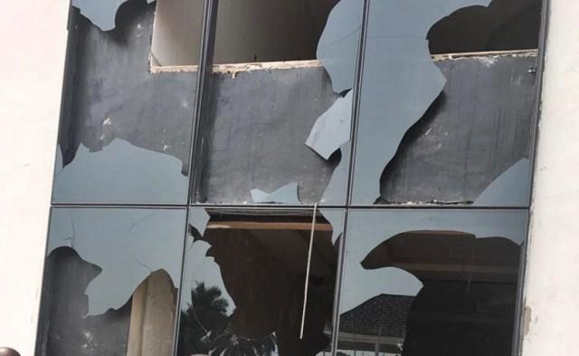 Elekeokwuri Damaged Building
