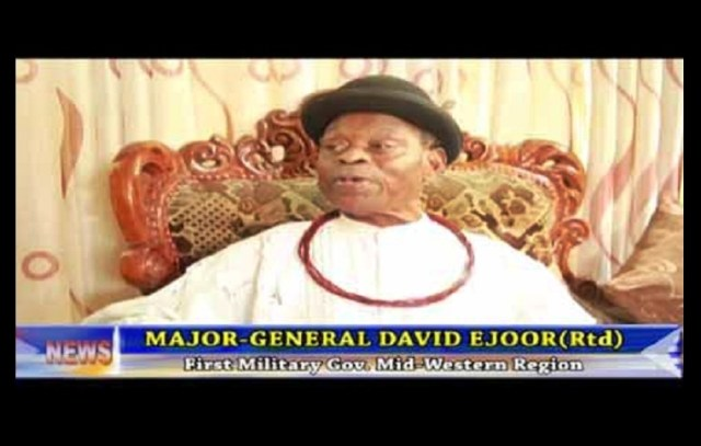 Late Maj. Gen. David Ejoor