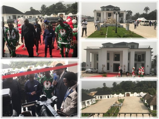 Opening of Osanebi's Mansion in Beneku
