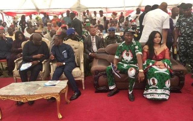 Ibori, Okowa and Rt. Hon. and Mrs Friday Osanebi