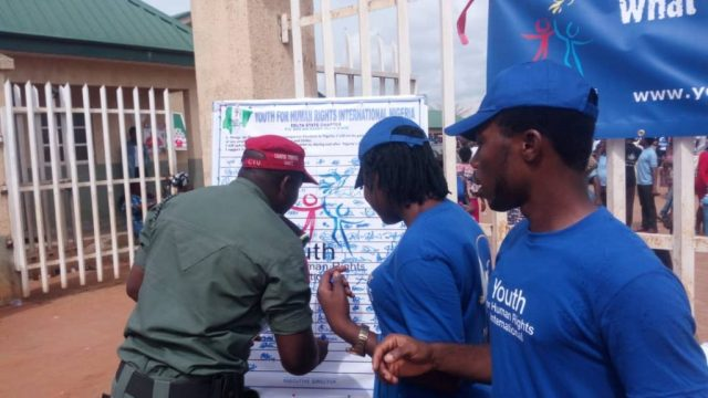 CTU Signs for Youth For Human Rights International