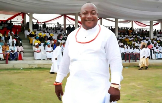 Chief Godspower Gbenekama, Spokesman, Gbaramatu Kingdom