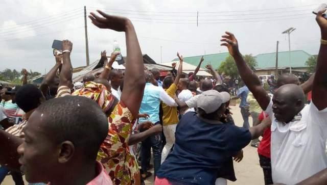 Wild Jubilation for Uviejitobor's Victory