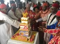King Charles Ayemi-Botu, the paramount Ruler of Seimbiri kingdom marks Silver Jubilee Coronation Anniversary
