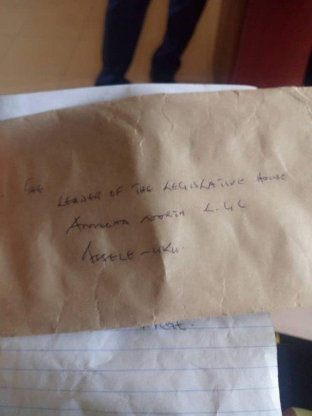 Origin Nwaonye Threat Letter
