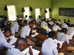 Students in Examination Hall