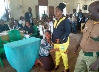 One of the Released Inmates From Warri Prison Thanks Her Assault Victim Who Forgave Her and Sought For Her Release.