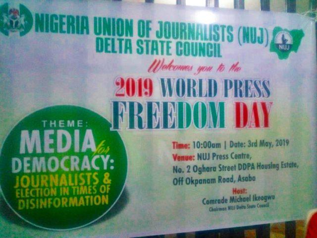 Delta NUJ World Press Freedom Day