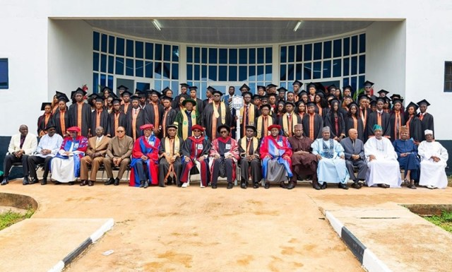 First Matriculation of Admiralty University