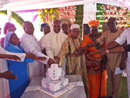 Comrade Ovuozourie Macaulay, Others join Reverend Father Jude Onyebadi as he Celebrates 25 Years Ordination Anniversary