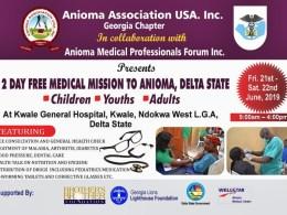 Anioma Association USA Medical Programme
