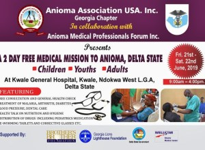 Anioma Association USA Medical Programme