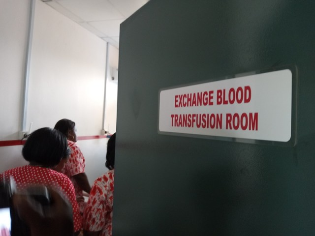 Exchange Blood Transfusion Room