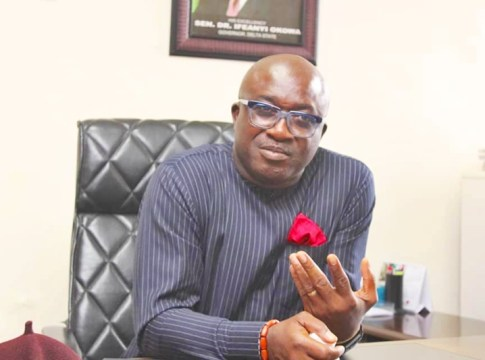 Chief Patrick Ukah, Delta State Commissioner for Basic and Secondary Education