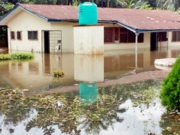 One of the Flooded Houses in Igbodo