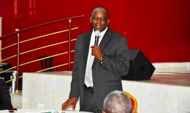 Mr. Peter Mrakpor Esq., Delta State Commissioner for Justice and Attorney-General