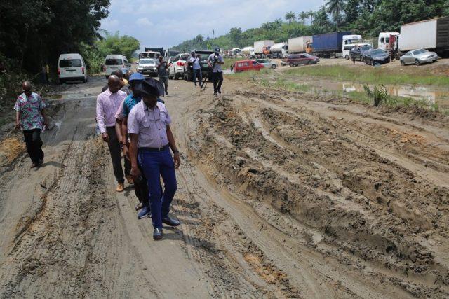 Deplorable Warri Benin Road