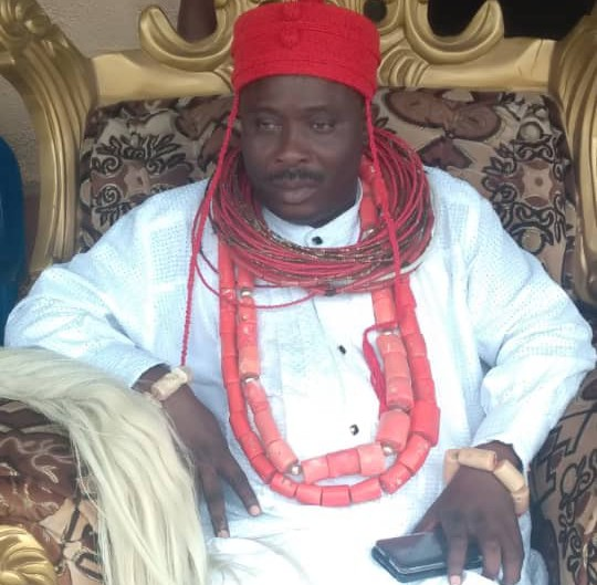 HRM, King Emmanuel Warewini Arikawei, Paramount Ruler of Obotebe Kingdom in Burutu Local Government Area of Delta State