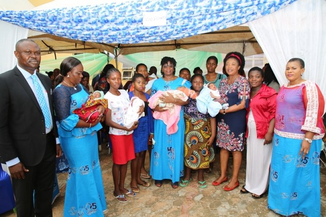 Babies and Nursing Mothers discharged by O5 Initiative on International Day of Charity 2019 at FMC, Asaba