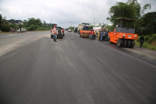 The On-going Construction of Ughelli-Asaba Express Road Sector A.