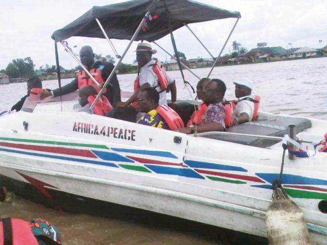 CEPEJ Donates Boat to Maritime University