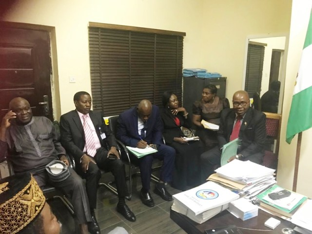 Members of Delta State House of Assembly Works Committee
