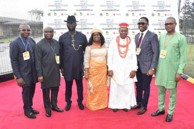 Delta State Representatives at the 2019 NAOC Host Community Day Celebration, in Port-Harcourt, Rivers State
