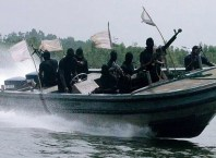 Suspected Pirates in the Niger Delta region of Nigeria