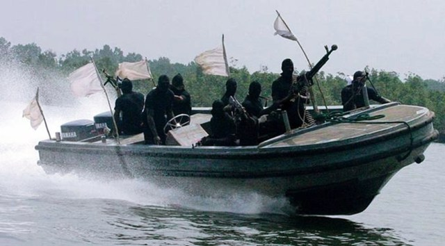 Suspected Pirates in the Niger Delta region of Nigeria