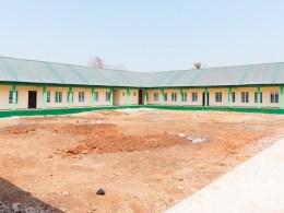 A Section of the 700 Capacity Hostel at Delta NYSC Orientation Camp, Issele-Uku