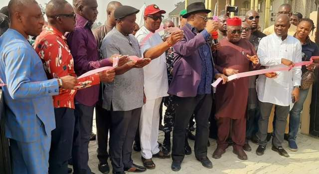 Delta Deputy Governor, Kingsley Otuaro Inaugurates DESOPADEC Projects in Warri South West local government area