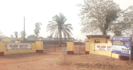 Premises of late Rev. Dr. Samuel Wadei Martin, Founder, Pilgrim Baptist Hospital Issele-Uku
