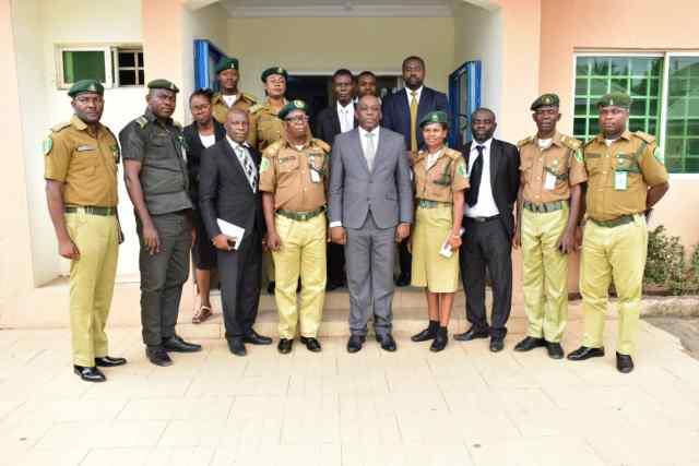 Nigerian Correctional Service Visits Delta Attorney General