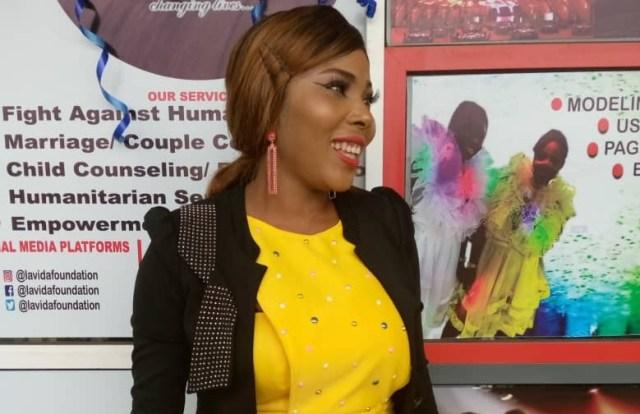 Vida Modelo, Nollywood Diva and Media Fashionista