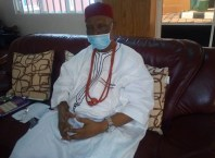 Dr. Emmanuel Efeizomor, Obi of Owa, who is also the Chairman, Delta State Council of Traditional Rulers