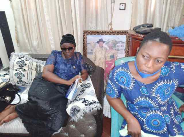 Burial of Late Joyce Overah