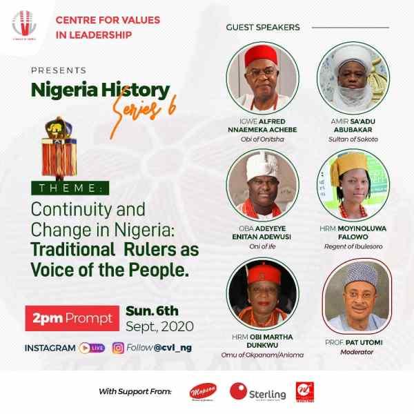 CVL Nigeria History Series Programme