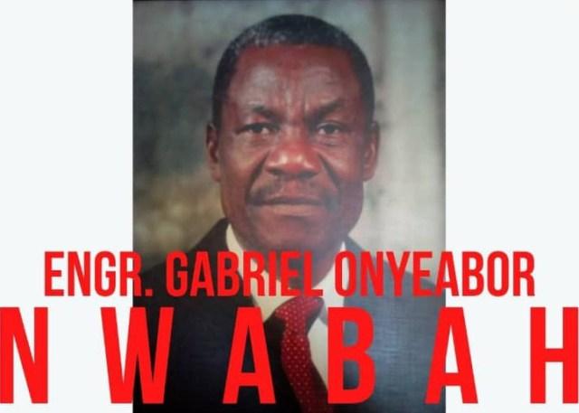 Gabriel Onyeabor Nwabah