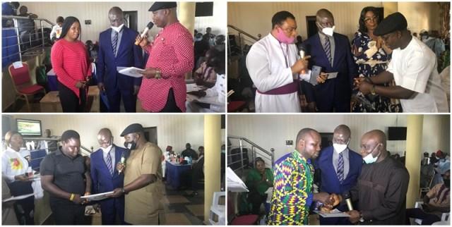 Beneficiaries of Okpobrisi Sustainable Development Scheme by Hon Ferguson Onwo