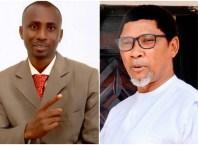 L-R: Mr Malcolm Nnamdi Oteri and Mr Francis Whyte Osabohien