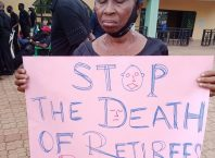 Delta Local Government Retirees Protest N48.3bn Unpaid Gratuity and Pension by State Government since 2014