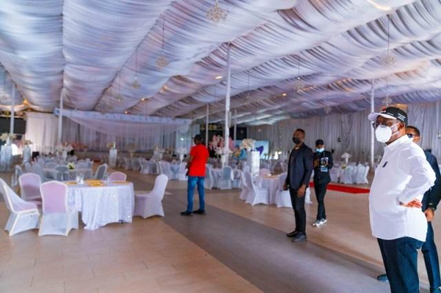 EndSARS: Okowa Inspects Dome