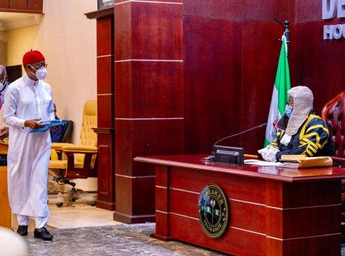 Okowa Presents Delta 2021 Budget