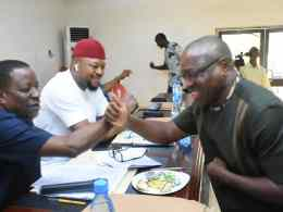 Delta State House of Assembly Committee on Special Duties during 2021 budget defense