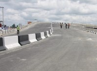 Effurun-Warri Flyover Under-Construction in April 2015