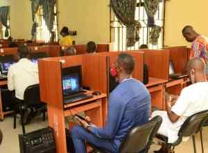Delta Primary School Teachers in an ICT Training Workshop organised by SUBEB in Warri