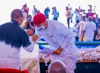 Governor Ifeanyi Okowa and Hon Ndudi Elumelu
